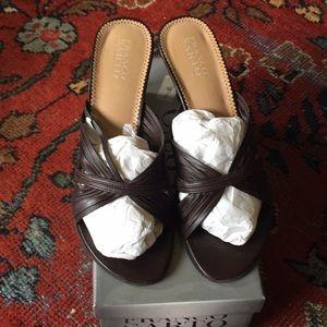 Franco Sarto Carrera wedge sandals